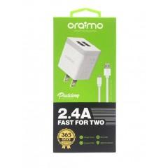 ORAIMO Charger Dual USB White OCW-C61D whiteZZ