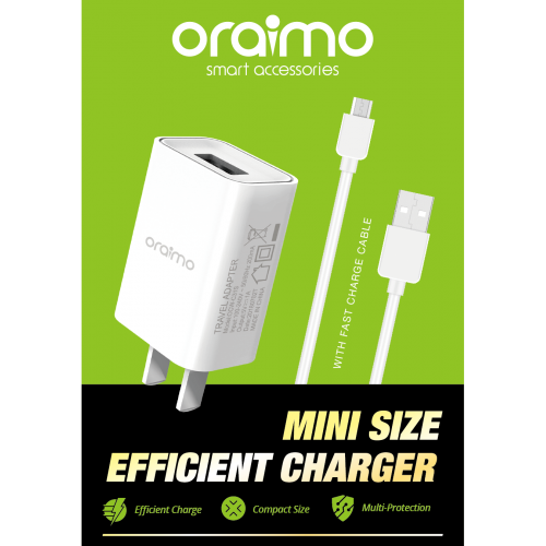 ORAIMO IPhone Charger White OCW-C31SL