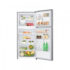LG Refrigerator 14 feet 393 Net Liters No Frost Plantinum Silver Smart Inverter GN-B562SQCL