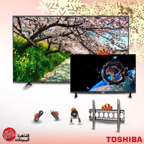 Toshiba TV LED 4K Smart 58 Inch With Built In Receiver 58U5865EA
