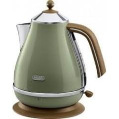 Delonghi Kettle 1.7 Liter 3000 Watt Green: KBOV2001.GR