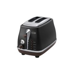 Delonghi Toaster 900W Black Color: CTOV2003.BK