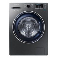 Samsung Washing Machine 8 KG 1400 Spin Silver WW80J5555FX1