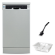 White Whale Dish Washer 10 Person Silver DW-1045VSS
