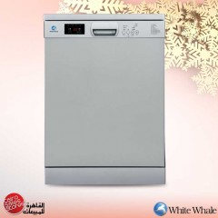 White Whale Dish Washer 15 Person Silver DW-1585VSS