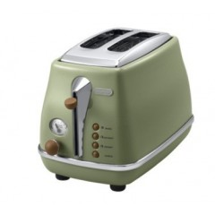Delonghi Toaster 900W Green Color: CTOV2003.GR