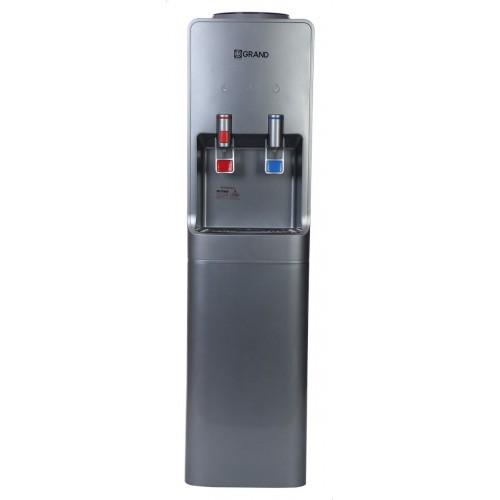 جراند مبرد مياه حنفيتين بارد/ساخن مزوده بثلاجة لون سيلفر WDS-310F
