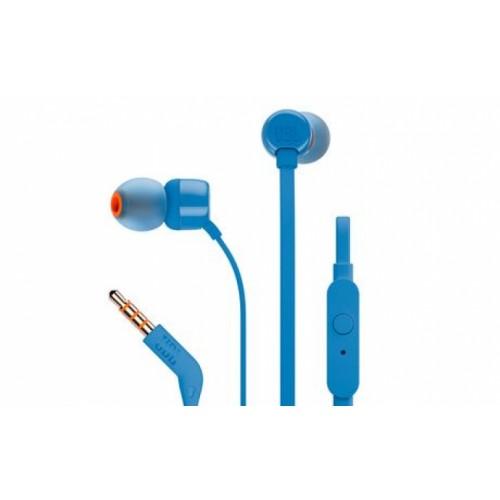 JBL In-ear Headphones Blue T110 BLU