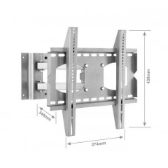 Moving Wall Mount Lcd/Plasma Brackets for Size 32-42 Inch TVY-47