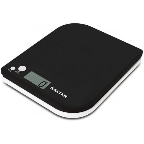 SALTER Scales 5KG Digital Screen Black S-1177BKWHDR