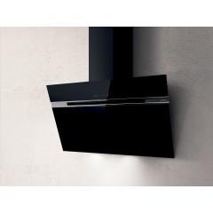 Elica Kitchen Chimney Hood 90cm 757 m3/h Black STRIPE-BL/A/90/LX
