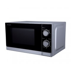 Sharp Microwave 20 Liter 800 Watt Silver R-20CR(S)