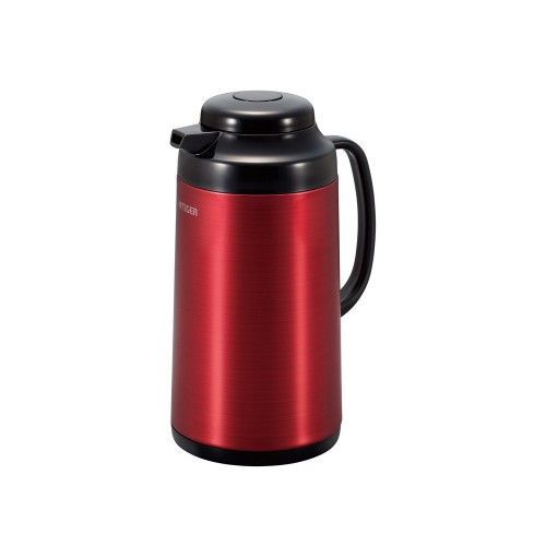 Tiger Thermos Stainless Steel 1 Liters Red * Black PRO-C100