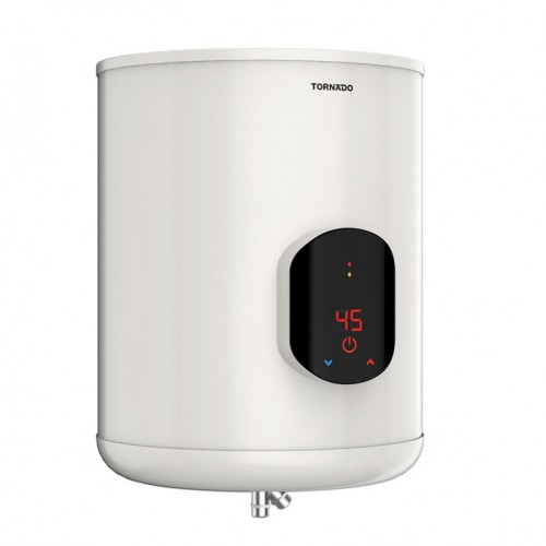 TORNADO Electric Water Heater 45 Litre With Digital Screen Off White EWH-S45CSE-F