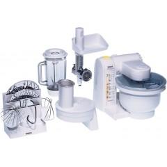 Bosch Kitchen Machine 500 Watt 3.9 Liter+1 Liter blender White MUM4655EU