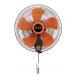 WELLSUN Wall Fan 18 Inch 5 Fins Orange W-18 OR
