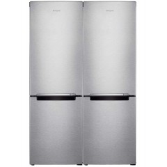 Samsung Twins Refrigerator 642 Liter With Bottom Freezer 6 Drawers Inverter Silver RB30J3000SA/MR Twins