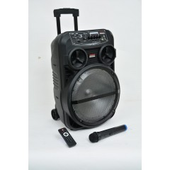 HAMMER Chargable + Wired Speaker 12 inch Hammer XT12
