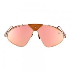 فايزن كوليكشن نظارة شمس للسيدات اطار لون روز جولد+عدسة روز جولد عاكسه Luis Fonsi–F1