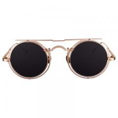 Vysen Collection Women's Sun Glasses Rose Gold Frame+Dark Grey Lenses ARIE-A5