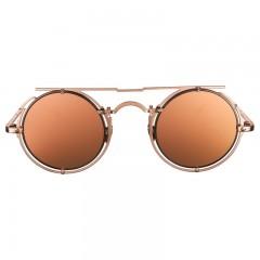 فايزن كوليكشن نظارة شمس للسيدات اطار لون روز جولد+عدسة روز جولد عاكسه ARIE-A4