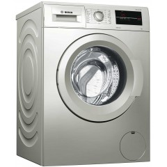BOSCH Washing Machine 7kg 1000 rpm Serie 2 Silver Inox WAJ2017SEG