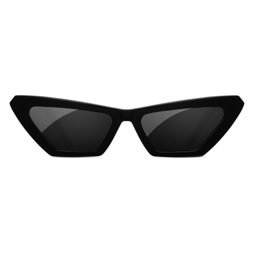 تشي مي نظارة شمس للسيدات لون اسود Tiger Square Black