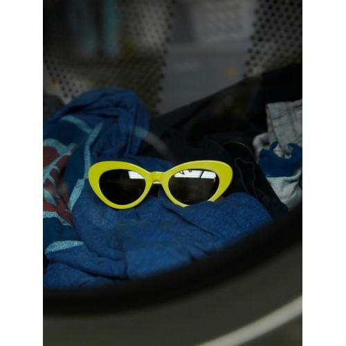 CHiMi Women's Sun Glasses Brown Yellow Tiger Round Yellow