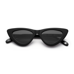 CHiMi Women's Sun Glasses Classic Cat Eyes Black CORE-BLACK