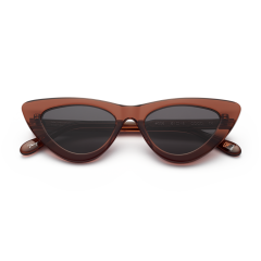 CHiMi Women's Sun Glasses Classic Cat Eyes Chocolate CORE-COCO