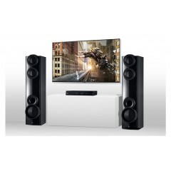 LG DVD Home Theater System 1000 W Bluetooth, Karaoke, DVD,CD LHD677