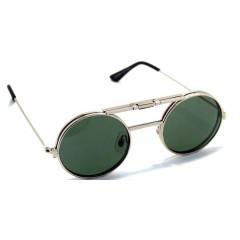 SpitFire Unisex Sun Glasses Silver LENNON FLIP UP