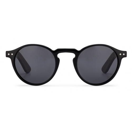 SpitFire Unisex Sun Glasses Black+Black Lenses CUTE EIGHT-BLACK