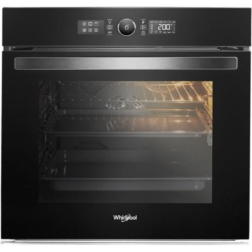 Whirlpool Built-In Gas Oven 90 cm Digital with Fan Silver 88 L WGM A4F1 IX