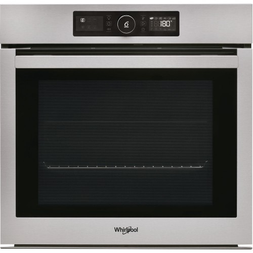 Whirlpool Built-In Electric Oven 60 cm with Fan and Grill 73 L Silver Inox AKZ9 6230 IX