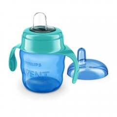 AVENT Classic Premium Toddler Cups 200 mm for 6 months Blue CPTC200-B