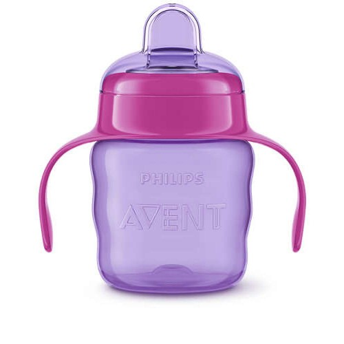 AVENT Classic Premium Toddler Cups 200 mm for 6 months Purple CPTC200-P
