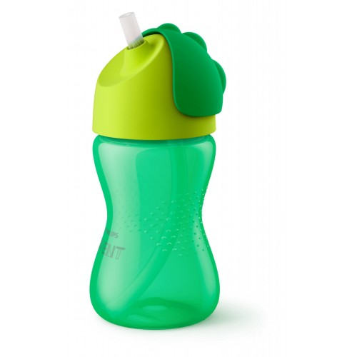 AVENT Toddler Cups with Straw 300 mm for 12 Months Green TCS300-G