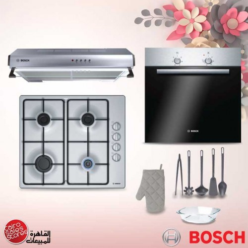 Bosch Built-In Electric Oven 60 cm With Grill and Fan Stainless Steel: HBN301E2Q