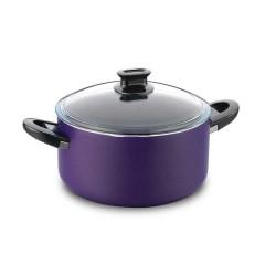 KORKMAZ Lina Granite Cooking Pot 22 cm 3.8L A1125