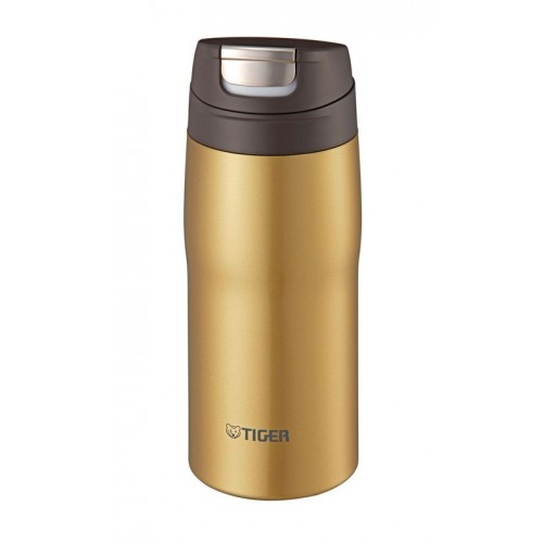 Tiger Thermal Mug Stainless Steel 0.36 Liters Gold MJC-A036