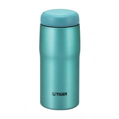Tiger Thermal Mug Stainless Steel 0.24 Liters Bright Blue MJA-B024