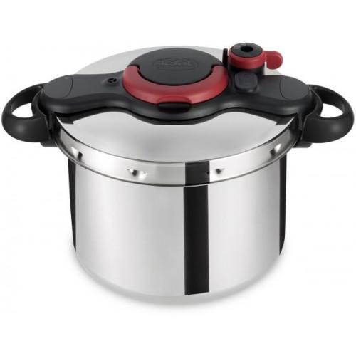 Tefal Pressure Cooker 9 Liter Stainless Steel P4624966