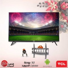 TCL LED TV 32 Inch HD Smart Android with Built-in Receiver 32S65