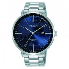 Alba MEN'S hand watch Stainless Steel band Prestige Resistant Active AS9J83X