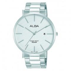 Alba MEN'S hand watch Prestige Stainless Steel band Water Resistant AS9K15X