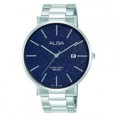 Alba MEN'S hand watch Prestige Stainless Steel band Water Resistant AS9K13X