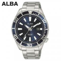 Alba MEN'S hand watch ِِActive stainless steel Strap Water Resistant AG8K31X