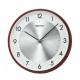 SEIKO Plastic Wall Clock 30cm Brown QXA615B