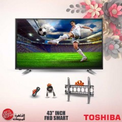 Toshiba LED TV 43 Inch Smart Full HD with Built In Receiver 43L5865EA